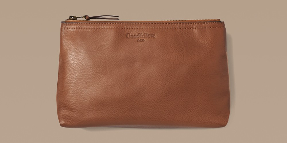 Top Cow Leather Large Pouch - Goodfellow & Co™