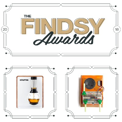 The Findsy Awards, Gourmia Single Serve Coffee & Tea Maker, Tech Will Save Us Synth Kit