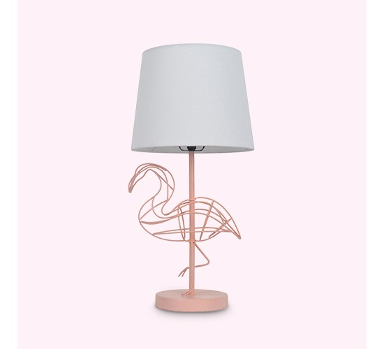 Flamingo Wire Figural Table Lamp - Pillowfort™