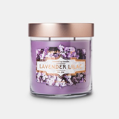 Large Jar Candle Lavender Lilac 15.2oz