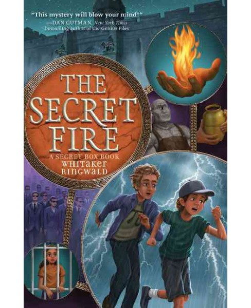 Secret Fire -  (Secret Box) by Whitaker Ringwald (Hardcover) - image 1 of 1