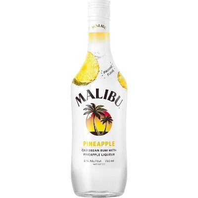 Malibu Pineapple Rum - 750ml Bottle