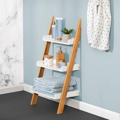 3-Tier Ladder Shelf White - Honey Can Do