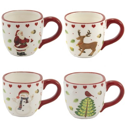 """Tabletop 2.5"""" Mini Cups Christmas Kitchen Drink One Hundred 80 Degree  -  Drinkware"""