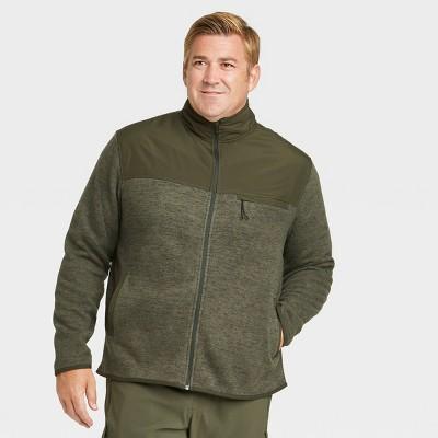 Men's Fleece Full Zip Sweatshirt - All in Motion™