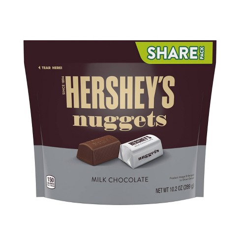 Hershey's Nuggets Share Size Milk Chocolates - 10.2oz - image 1 of 4
