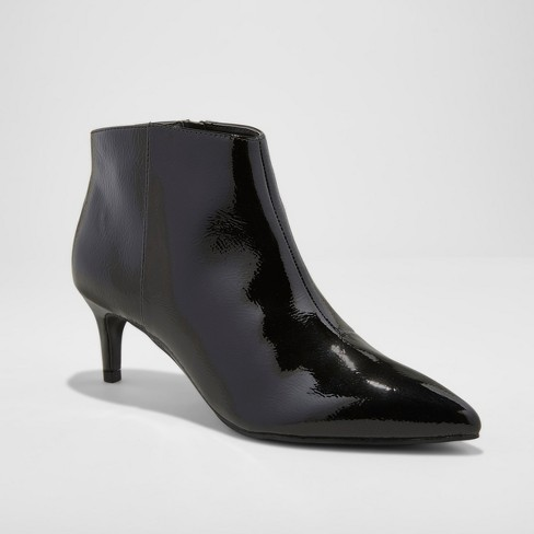 Women's Dominique Pointed Kitten Heel Booties - A New Day™ - image 1 of 5