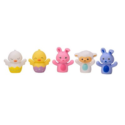 Magic Years Happy Spring 5pc Finger Puppet