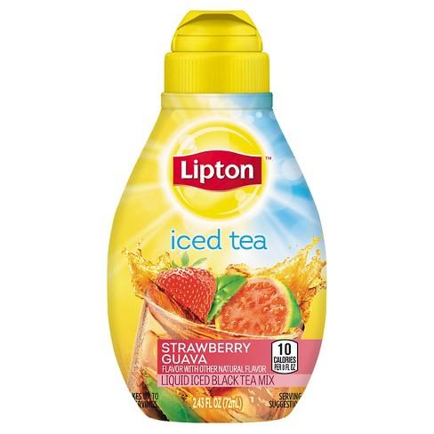 Lipton Tea & Honey Strawberry Guava Liquid Iced Tea Mix 2.43 oz - image 1 of 1