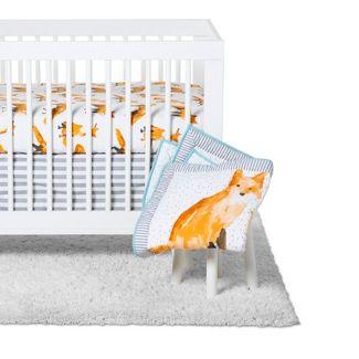 Crib Bedding Set - Cloud Island™ Orange