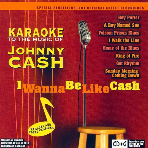 Various - I wanna be like cash karaoke to the m (CD) - image 1 of 1