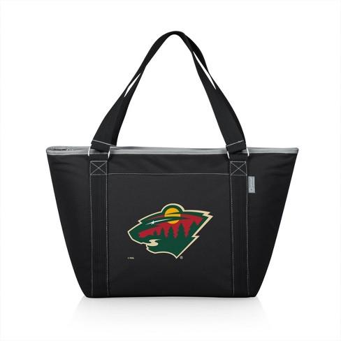 NHL Minnesota Wild Topanga Cooler Tote Bag - Black - image 1 of 4