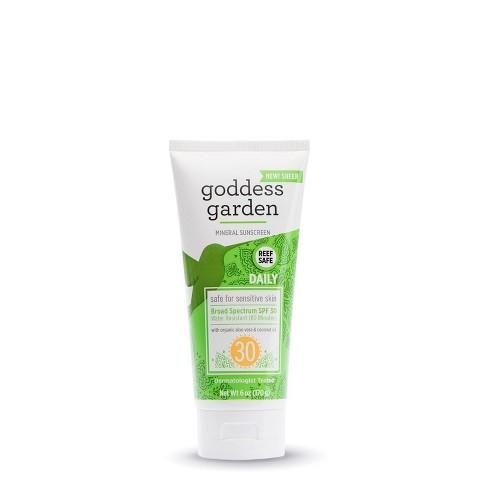 Goddess Garden Mineral Sunscreen - SPF 30 - 3.4oz - image 1 of 2