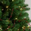 "Northlight 15' x 0.5"" Red Shiny Crimson Mirrored Disco Ball Beaded Christmas Garland - image 3 of 3"