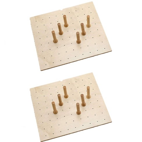 Rev-A-Shelf Deep Drawer 9 Peg Board System for Drawers Up to 24 Inches (2 Pack) - image 1 of 4