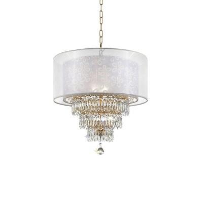 "OK Lighting 21.5""H Chantilly Ceiling Lamp"