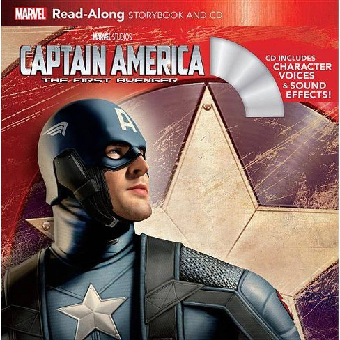 Captain America: The First Avenger Read-Along Storybook and CD - (Paperback) - image 1 of 1