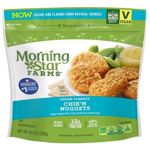 Morningstar Farms Classic Frozen Veggie Chikn Nuggets 105oz Target