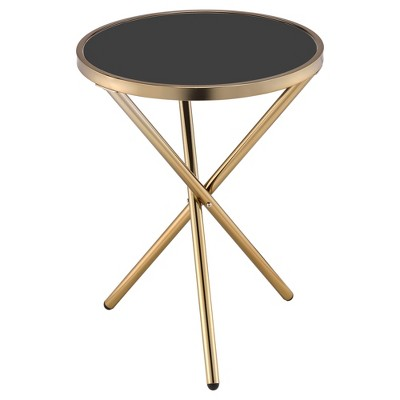 End Table Champagne Black