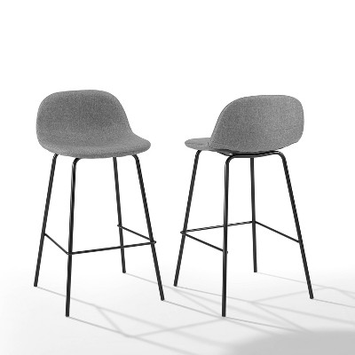 Set of 2 Riley Counter Height Barstools - Crosley