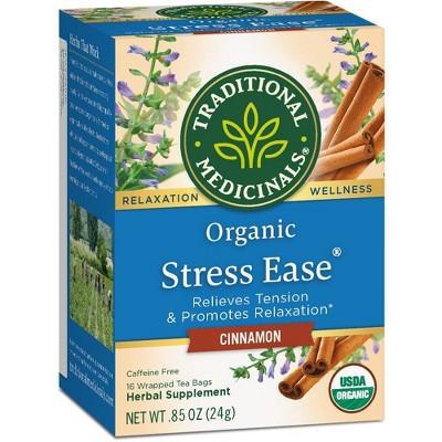 Tea Bags: Traditional Medicinals Stress Ease Tea Bags