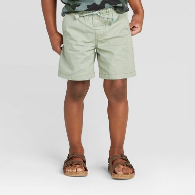 Toddler Boys' Twill Pull-On Shorts - Cat & Jack™ Green12M