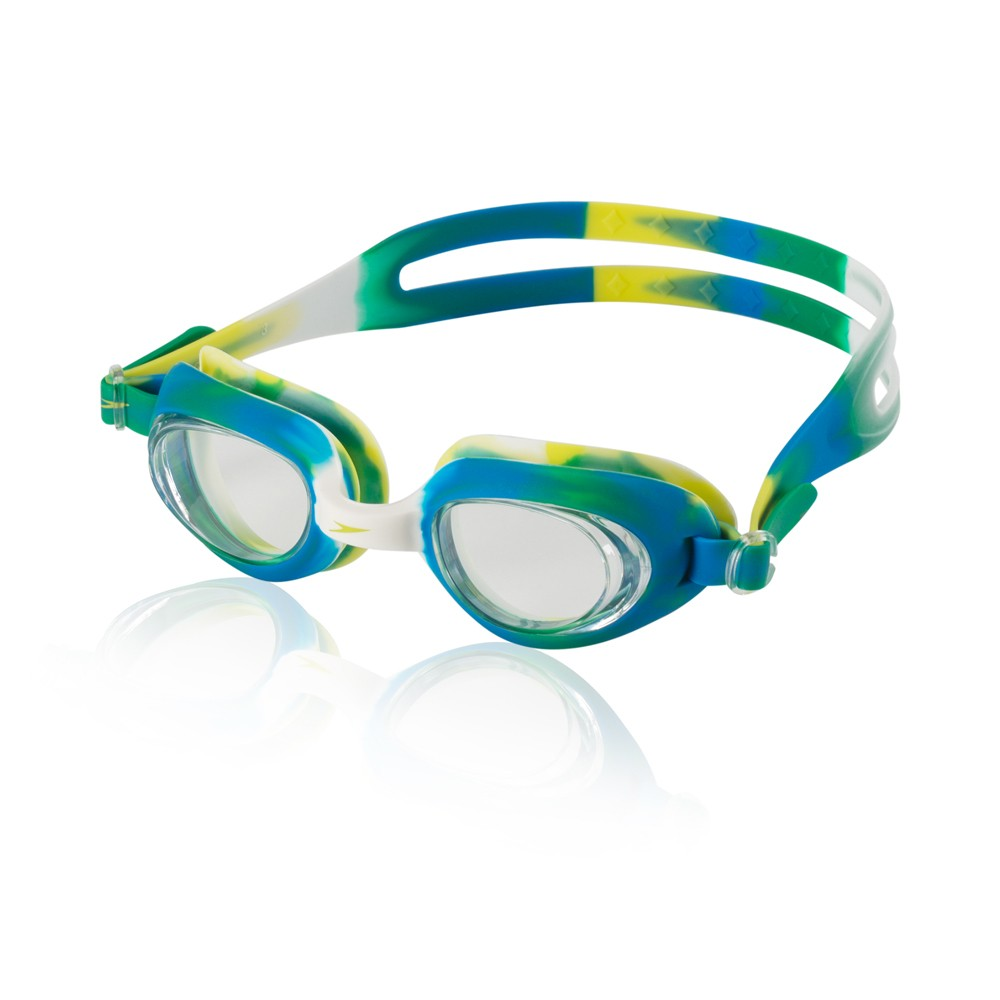 Speedo Adult Color Fuse Goggle - Green