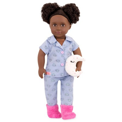 "Our Generation 18"" Sleepover Doll with Moon Pillow - Gloria"