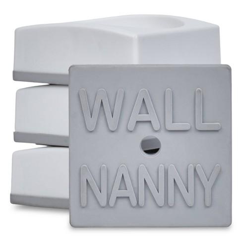 Wall Nanny Mini Baby Gate Wall Protector 4pk - image 1 of 3