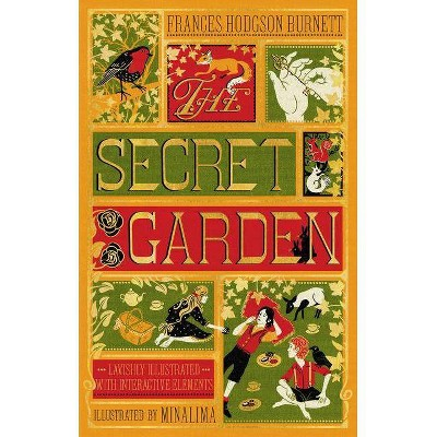 The Secret Garden (Illustrated with Interactive Elements) - by  Frances Hodgson Burnett (Hardcover)