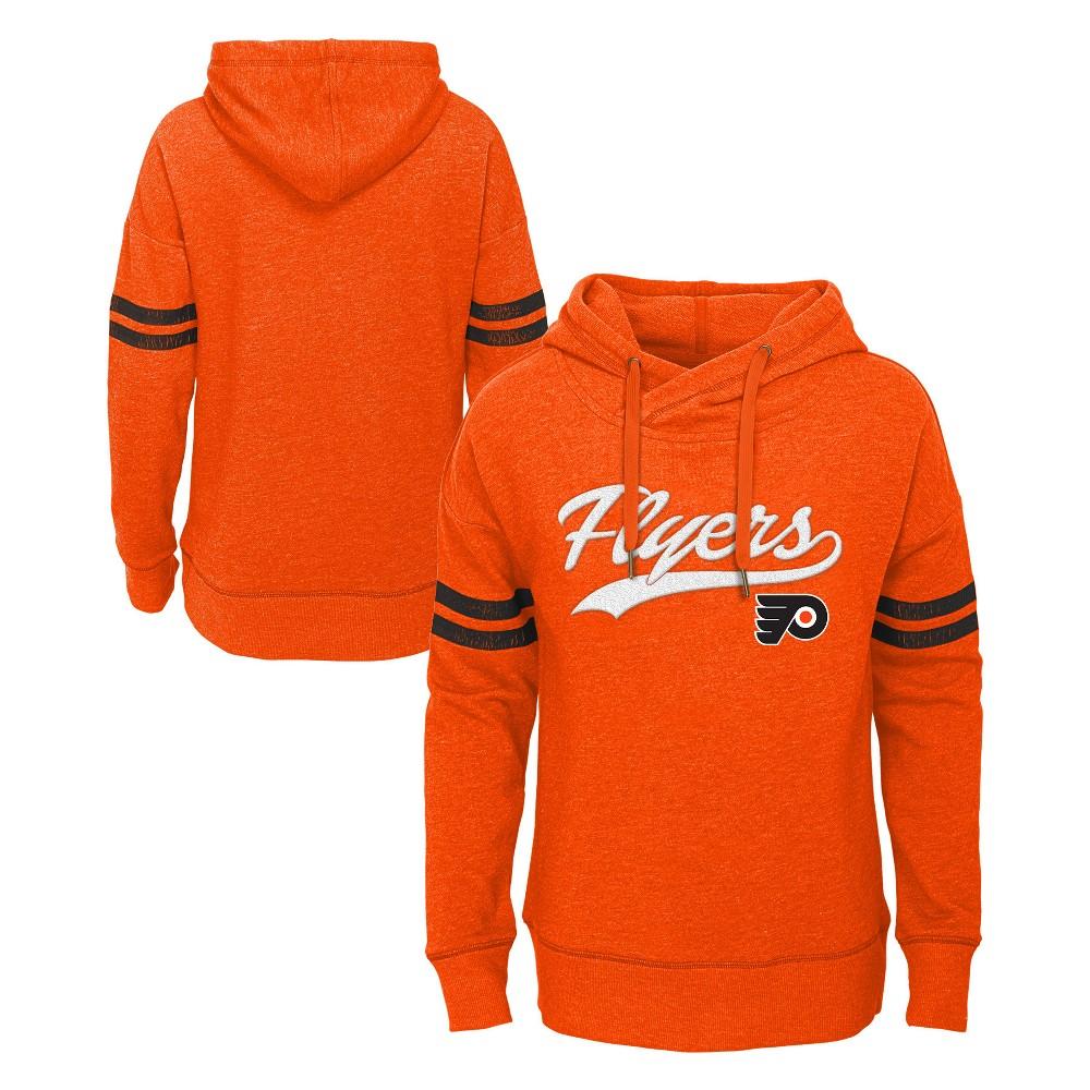 Philadelphia Flyers Girls' OT Fleece Hoodie M, Multicolored