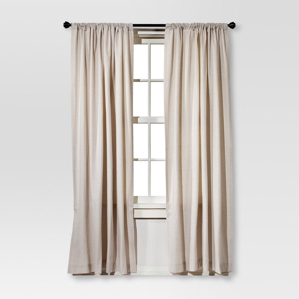 84 34 X54 34 Farrah Curtain Panel Cream Threshold 8482
