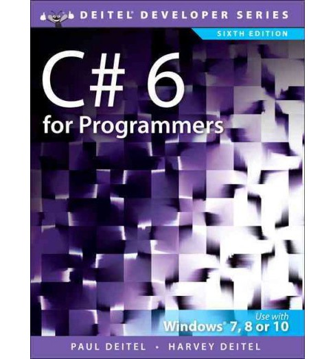 C# 6 for Programmers (Paperback) (Paul Deitel) - image 1 of 1