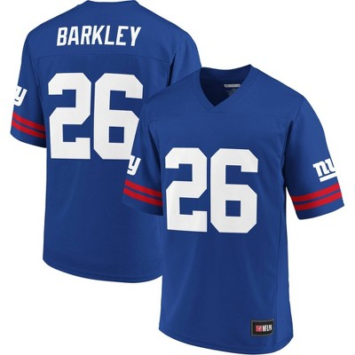 NFL New York Giants Saquon Barkley Men's Short Sleeve Jersey