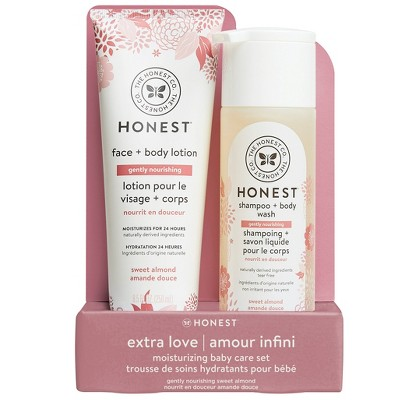 The Honest Company Gently Nourishing Shampoo & Lotion Bundle - Sweet Almond