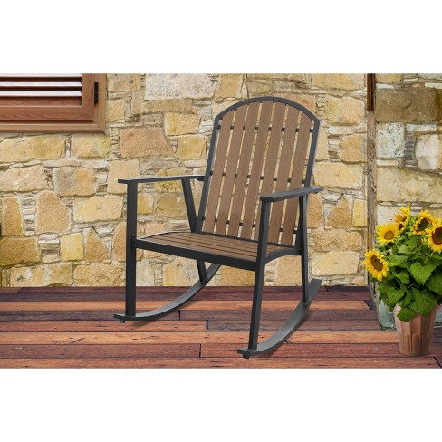 Shoreline Everwood Rocking Chair Natural Apollo Outdoor Target