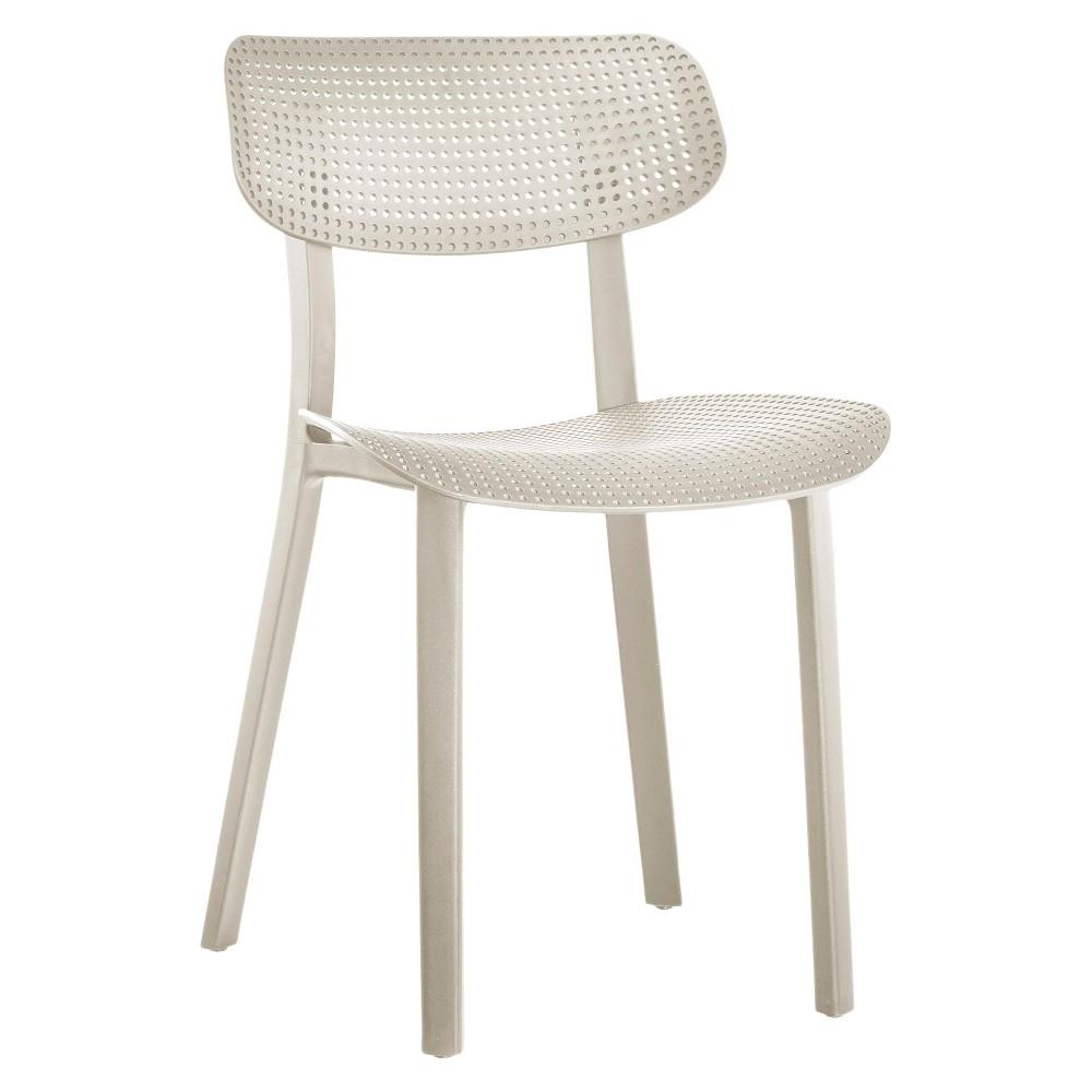 Branson Indoor/Outdoor Tilting Backrest Chair Tapestry Beige (Set of 2) - Jamesdar