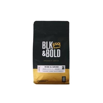 BLK & Bold Rise & GRND Bend, Medium Roast Ground 12oz