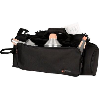Protec C238X Trumpet Explorer Gig Bag with Sheet Music Pocket Black