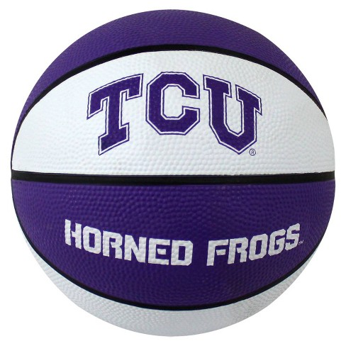 TCU Horned Frogs Mini Rubber Basketball