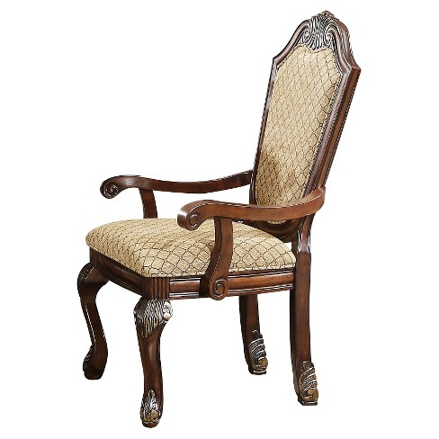 Chateau De Ville Arm Dining Chair (Set of 2) - Espresso - Acme - image 1 of 2