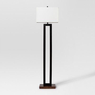 Weston Window Pane Floor Lamp Black Lamp Only - Project 62™