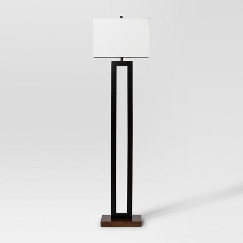 Weston Window Pane Floor Lamp Black Project 62 Target