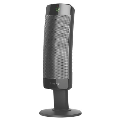 Lasko Ceramic Pedestal Tower Indoor Heater Black 1500W CS27600