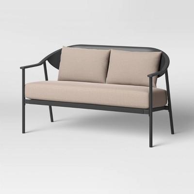Dekker Patio Loveseat with Lumbar Back Cushion - Project 62™