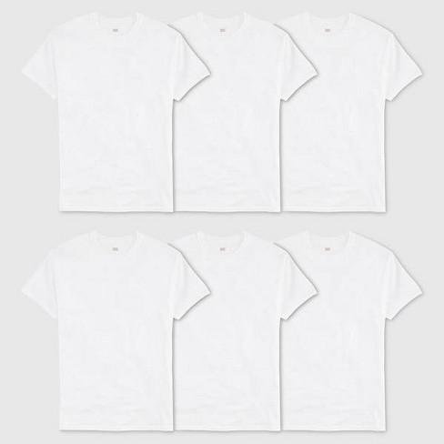 Hanes® Men's Crew Neck T-Shirt With Fresh IQ - White - image 1 of 4