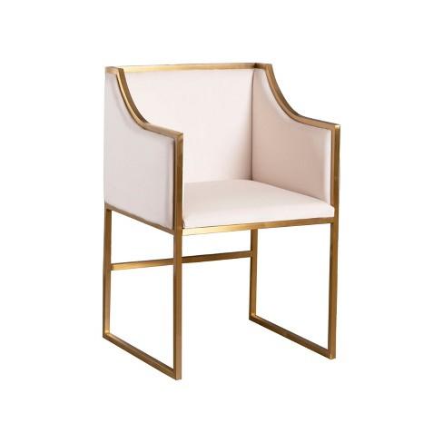 Fantastic Marie Velvet Dining Chair Ivory Abbyson Living Ibusinesslaw Wood Chair Design Ideas Ibusinesslaworg