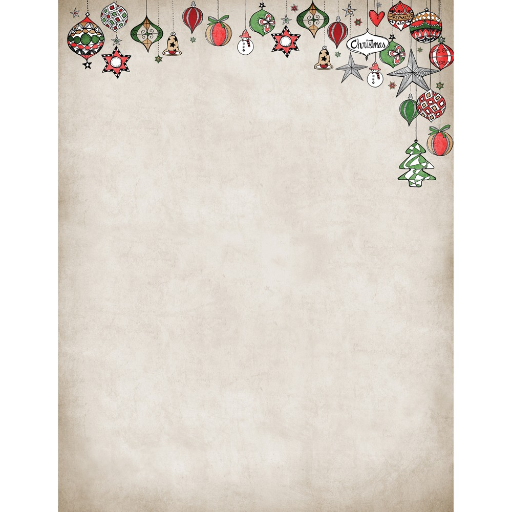80pk Vintage Ornaments Stationery Kits - Great Papers!, Multi-Colored