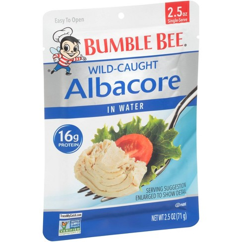 Ble Bee Albacore Tuna In Water Pouch