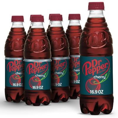 Dr Pepper Cherry Soda - 6pk/16.9 fl oz Bottles